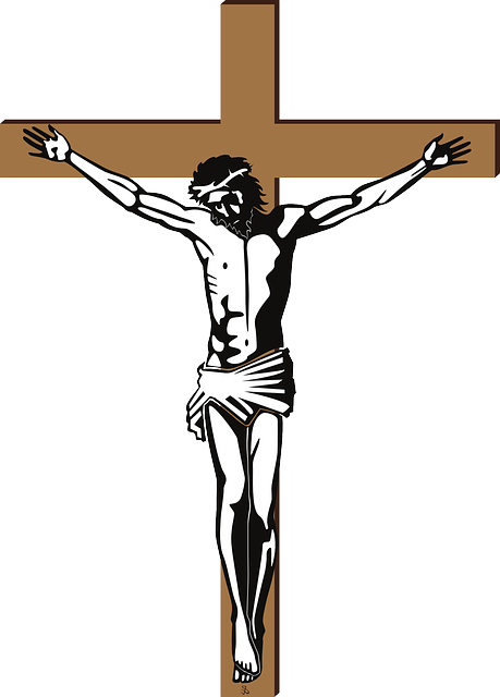 Christian Of Cross Jesus Depiction Crucifixion PNG Image