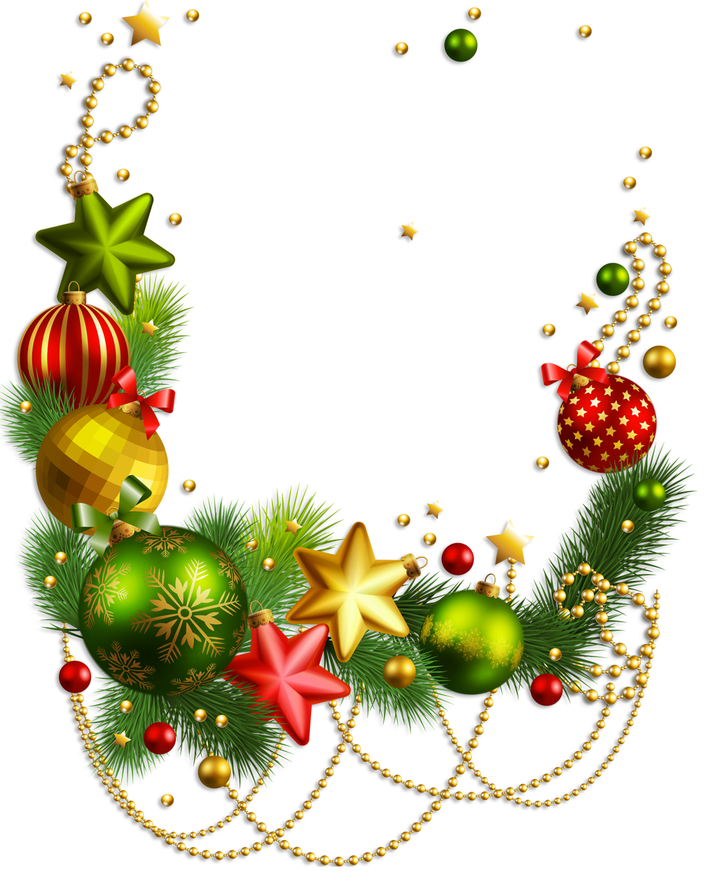 Christmas Decorations Png.Download Christmas Ornaments Transparent Hq Png Image