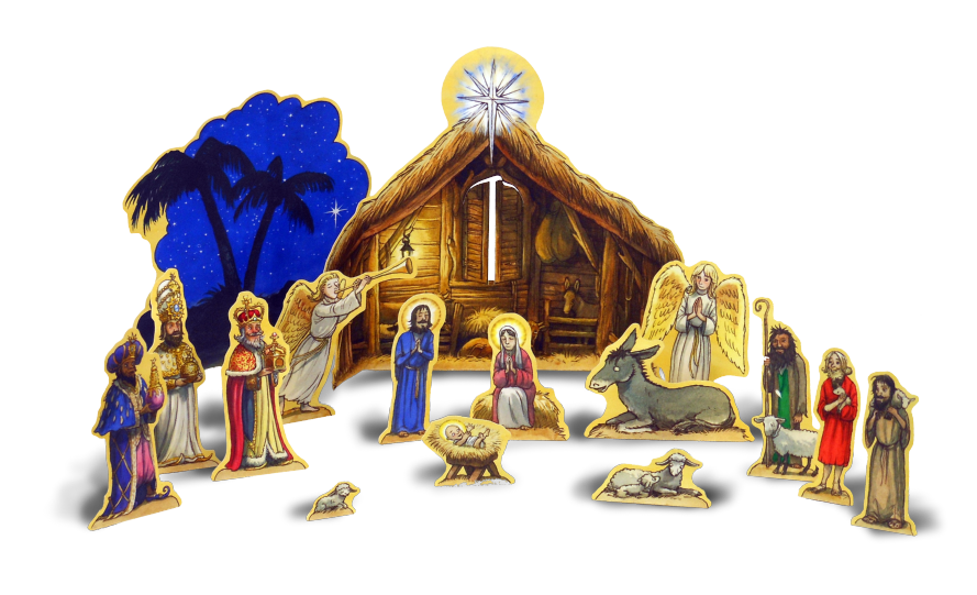 Holy Of Scene Nativity Most Bethlehem Cathedral PNG Image