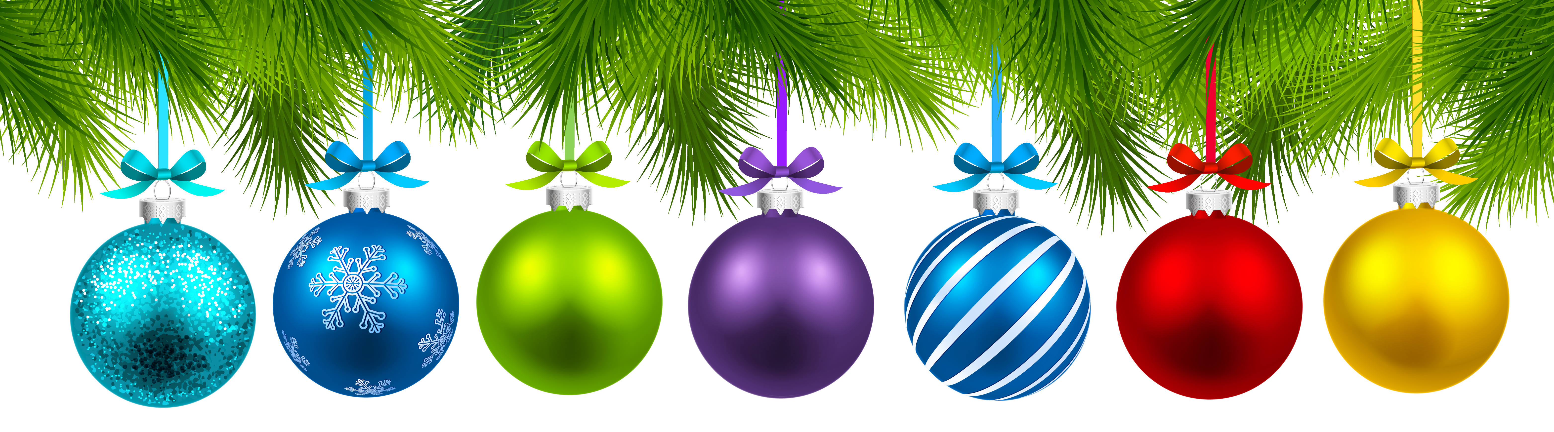 Decor Balls Ornament Tree Decoration Christmas PNG Image