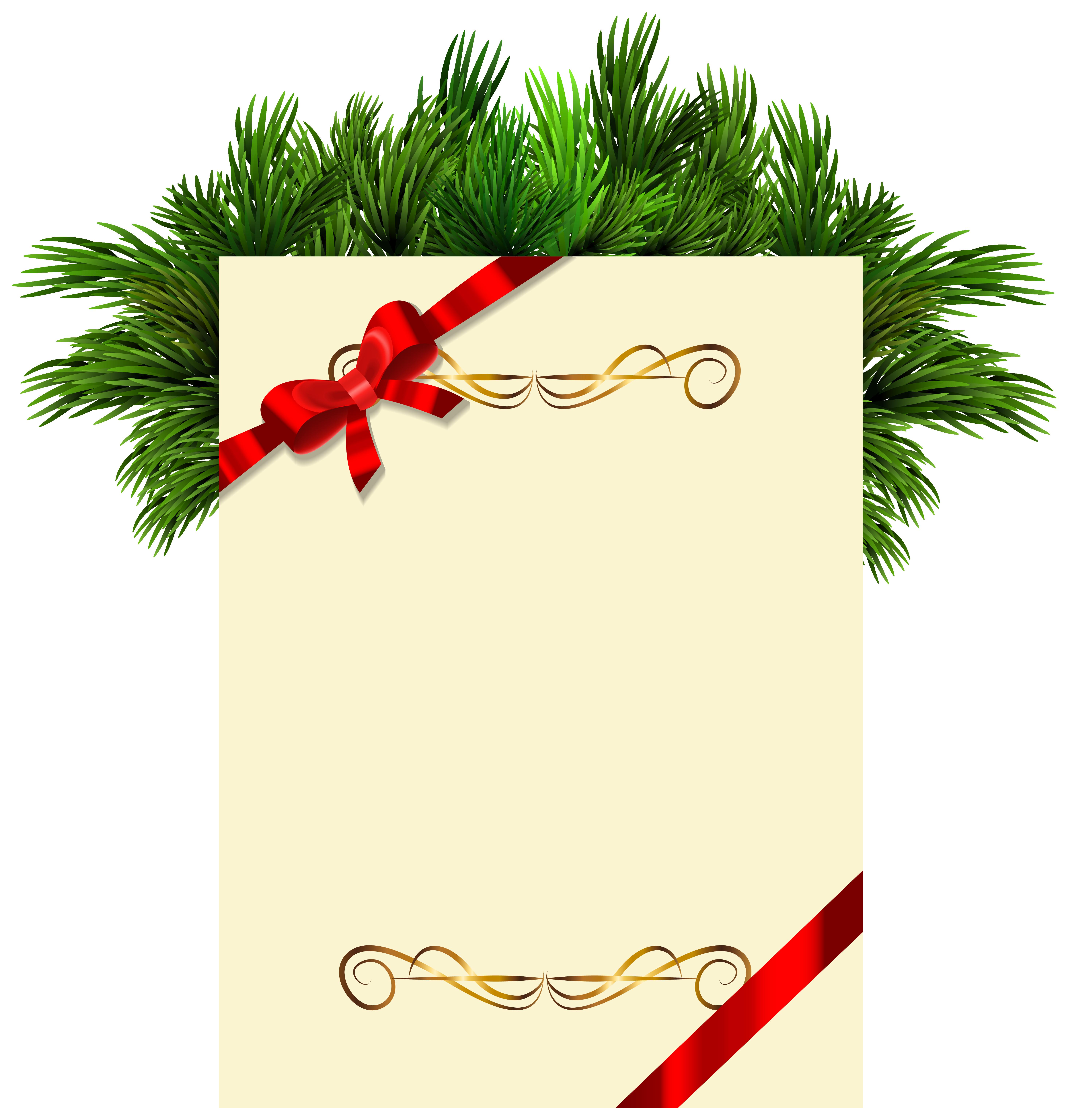 Заготовка для открытки на новый год