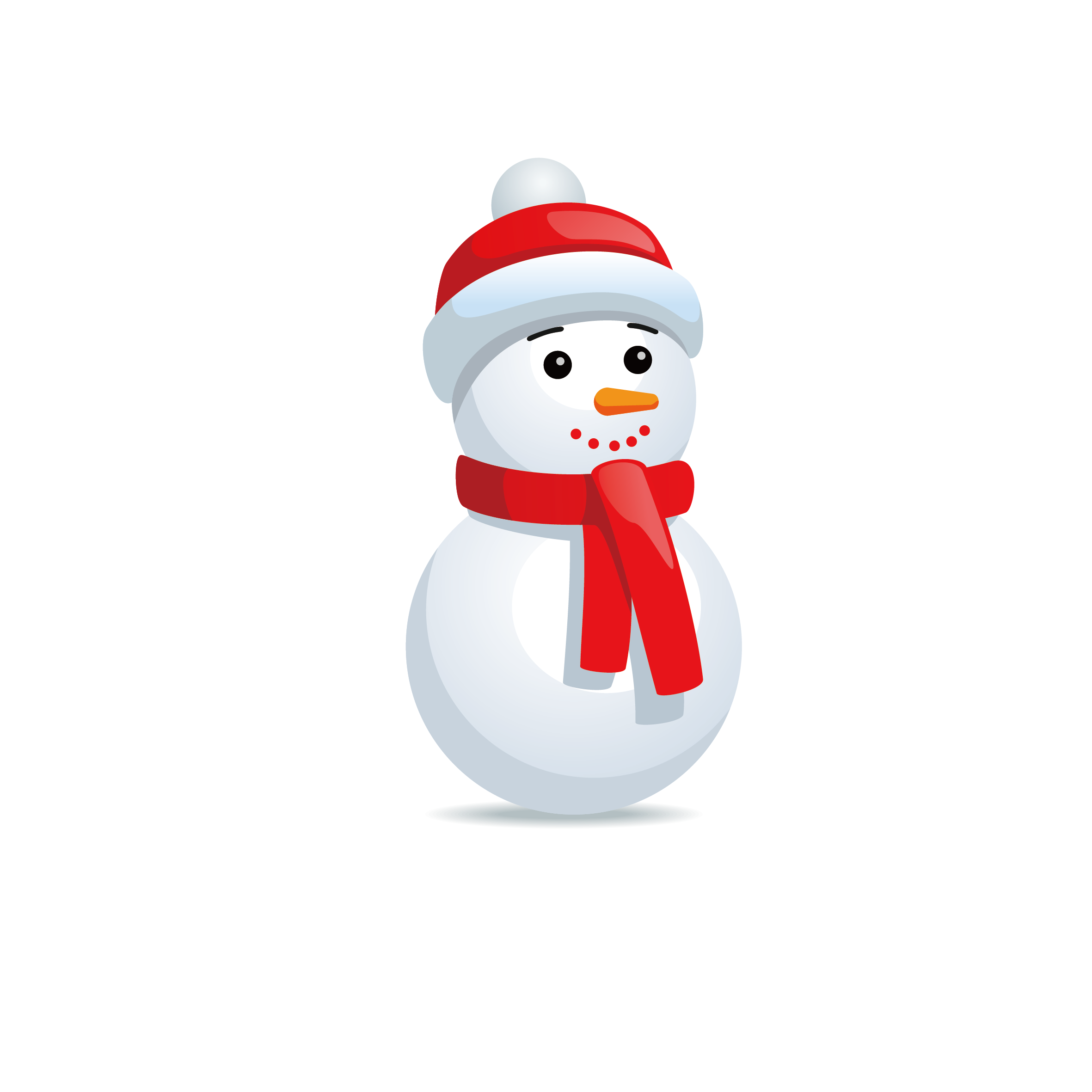Snowman Vector Design Christmas Icon Free Download PNG HD PNG Image