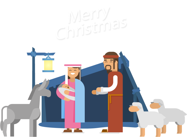 Nativity Of Christmas Day Jesus PNG Free Photo PNG Image