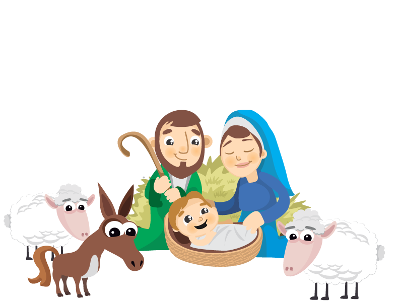 Of Scene Jesus Nativity Vector Birth Child PNG Image