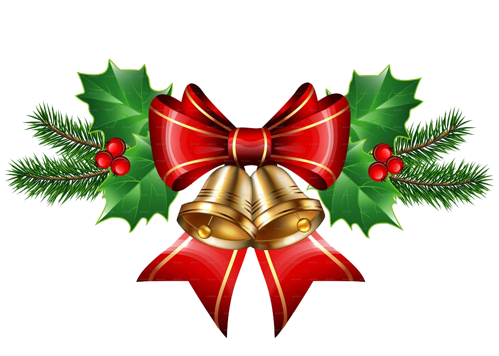 christmas bell transparent png image - Christmas Transparent