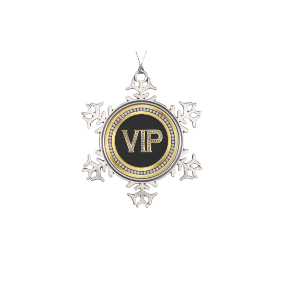 Diamond Ornament Anniversary Snowflake Decoration Discount Vip PNG Image
