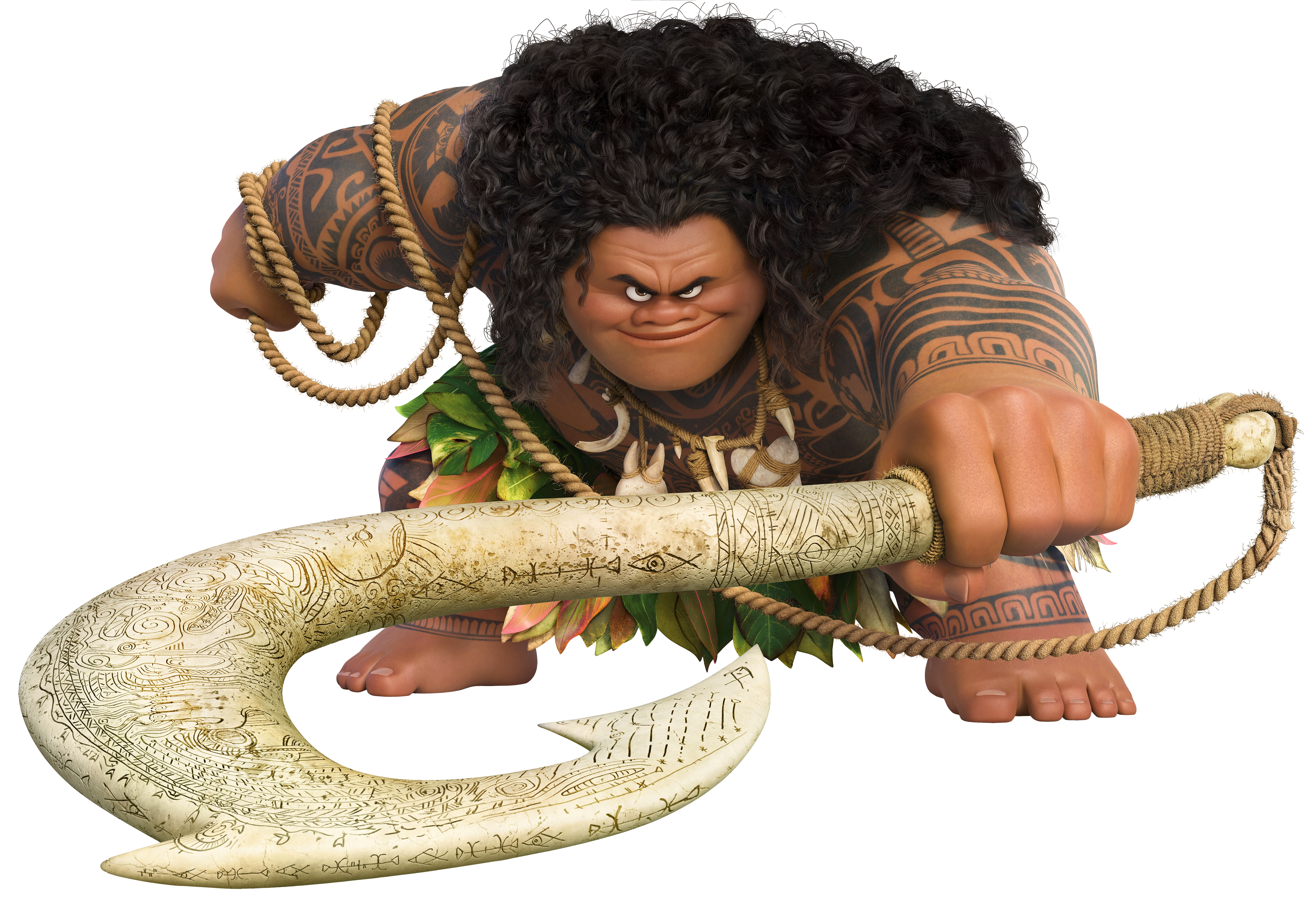 Maui Large Moana Transparent Disney Free Download Image PNG Image