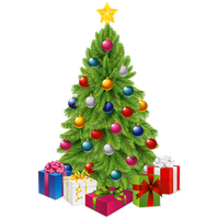 christmas tree transparent png image - Christmas Tree Transparent