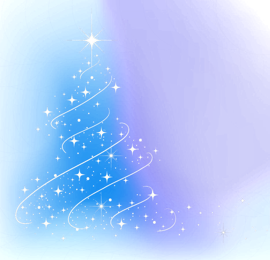 Light Abstract Tree Decoration Year Christmas PNG Image