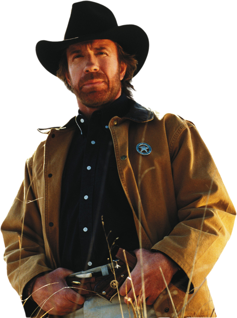 Chuck Norris Picture PNG Image