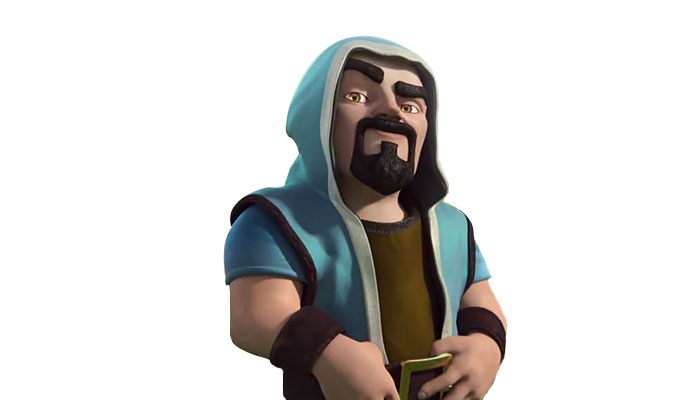 Clash Of Clans Wizard Png PNG Image