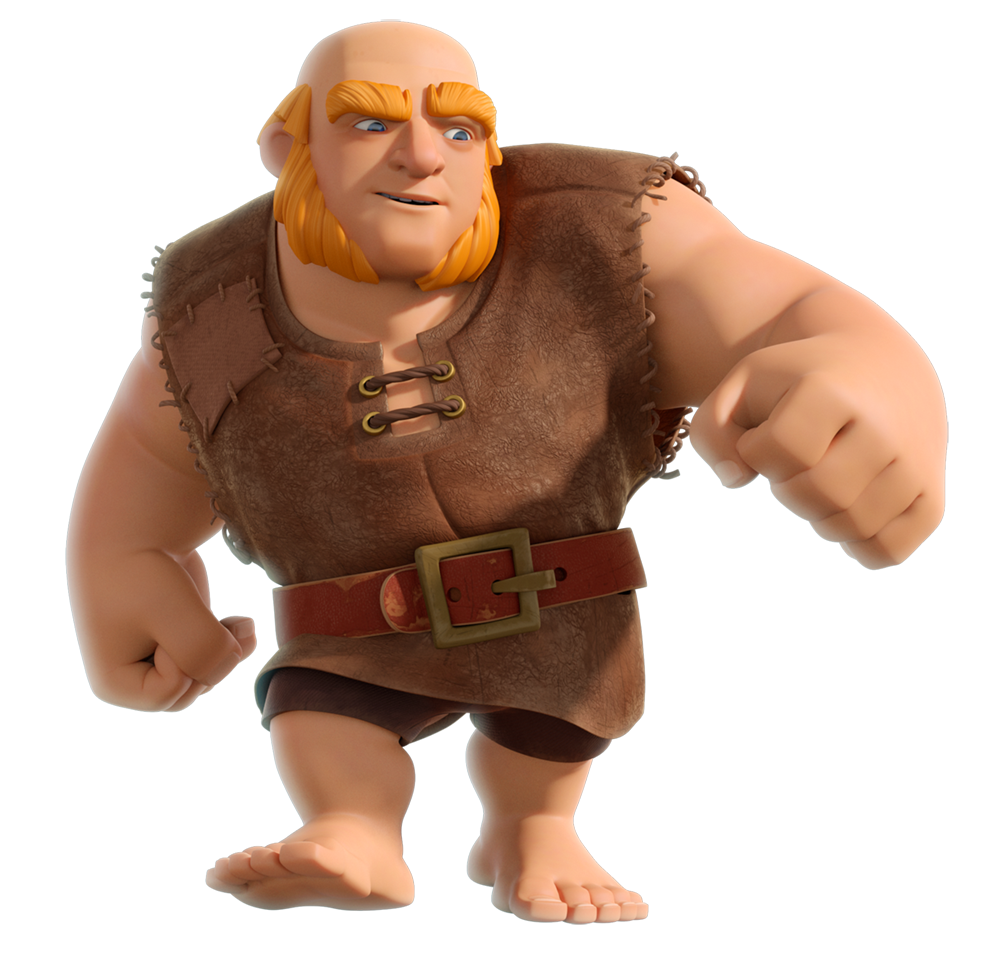 Clash Of Clans Giant Png PNG Image