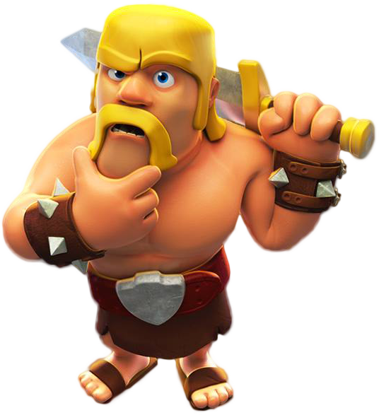 Clash Of Clans Barbarian Png PNG Image