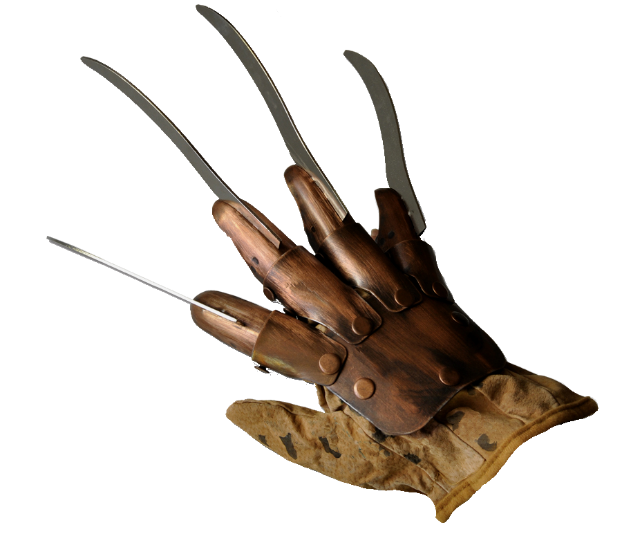 Collectibles Entertainment National Glove Freddy Safety Krueger PNG Image