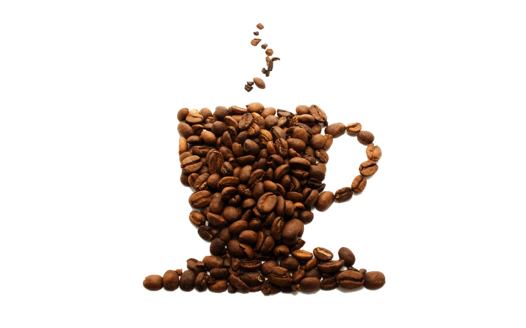 Coffee Tea Chocolate Bean Beans Cafe Milk PNG Image