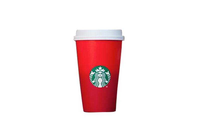 Coffee Starbucks Brand Red Cup Free HD Image PNG Image