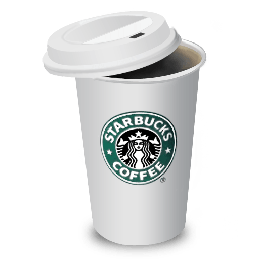 Coffee Cafe Starbucks Cup HD Image Free PNG PNG Image
