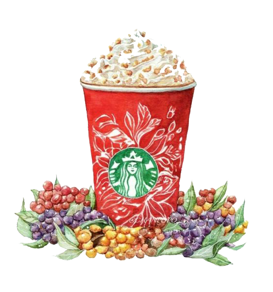 Coffee Hamburger Mocha Popcorn Latte Caffxe8 Cartoon PNG Image