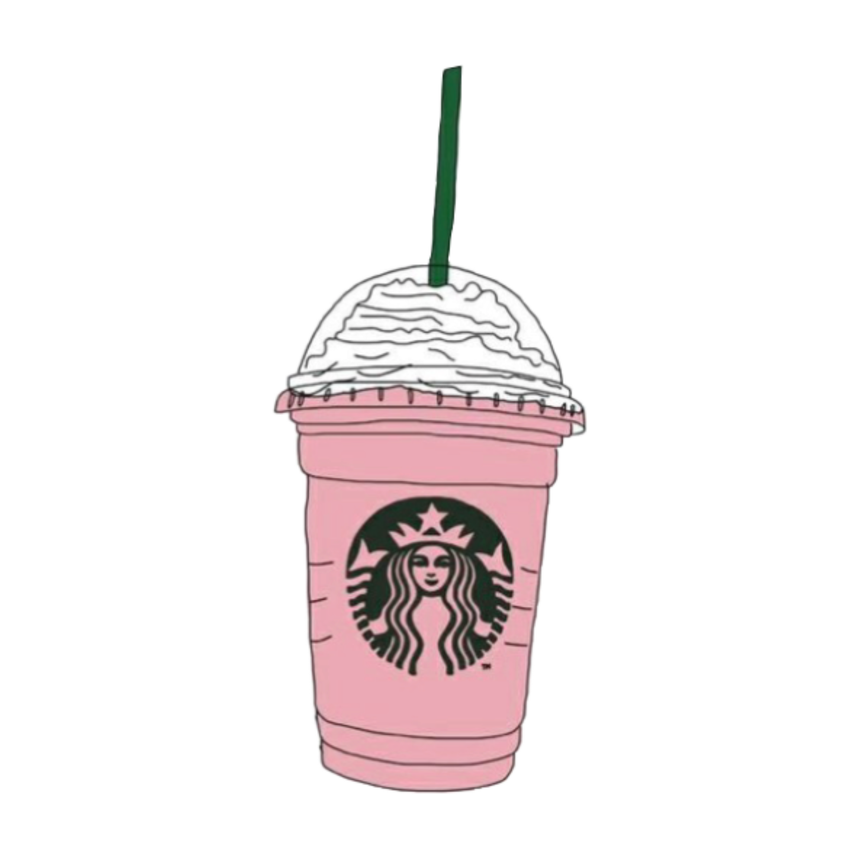 Coffee Frappuccino Starbucks Download HQ PNG PNG Image