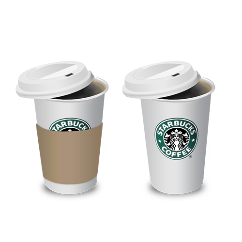 Coffee Iced Tea Cup Take-Out Mocha Starbucks PNG Image