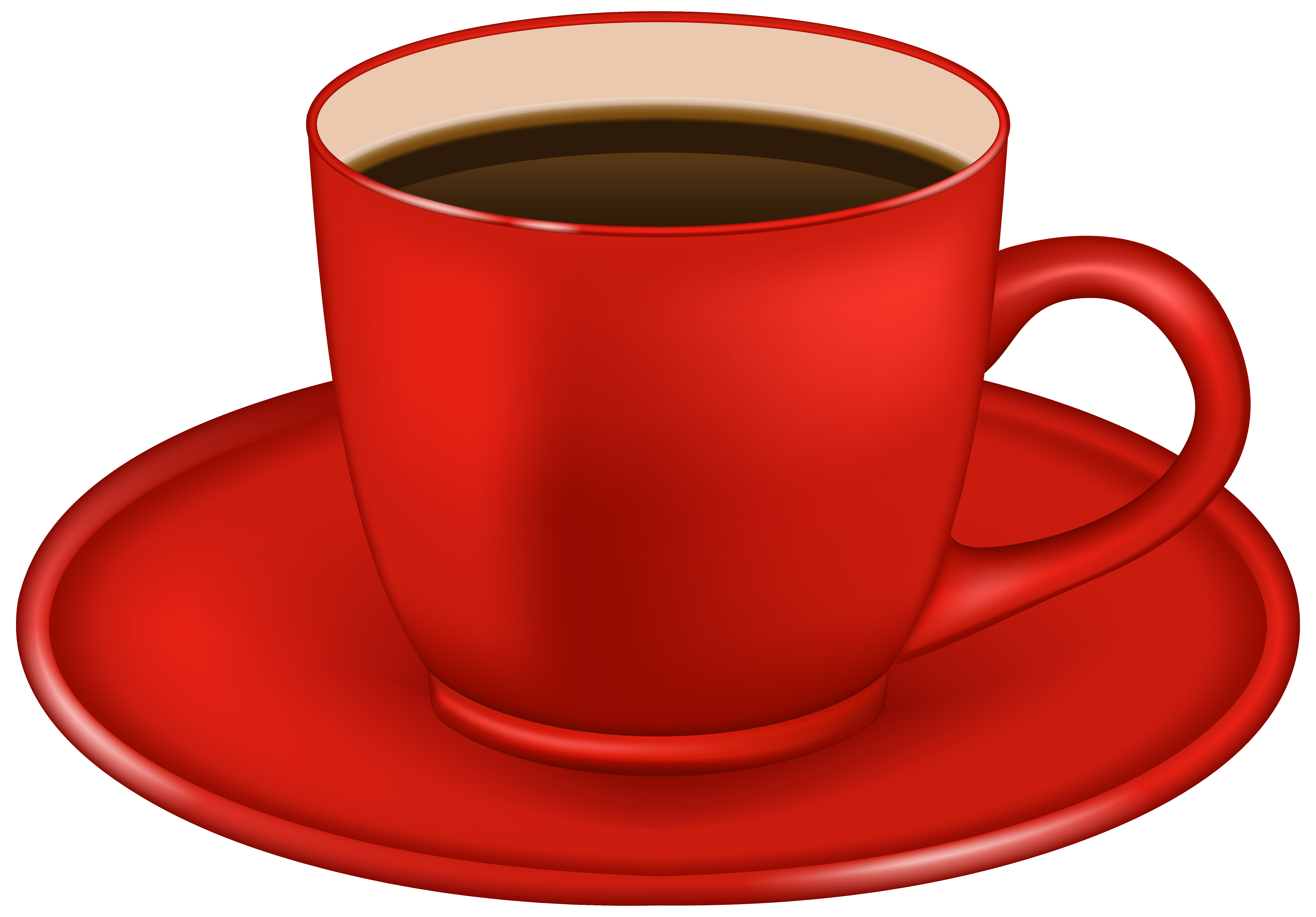 Single-Origin Cup Tea Espresso Coffee Cafe Red PNG Image