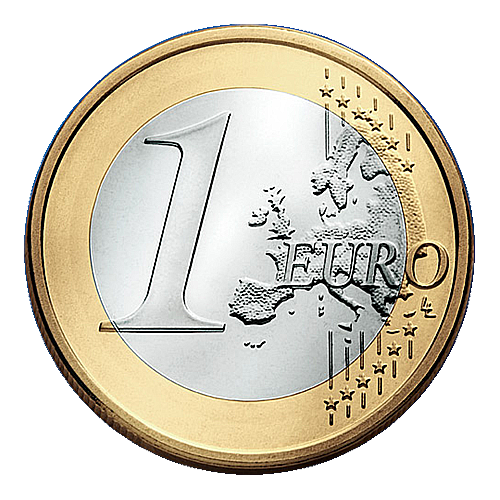 Currency Coin Transparent Eurozone Euro HD Image Free PNG PNG Image