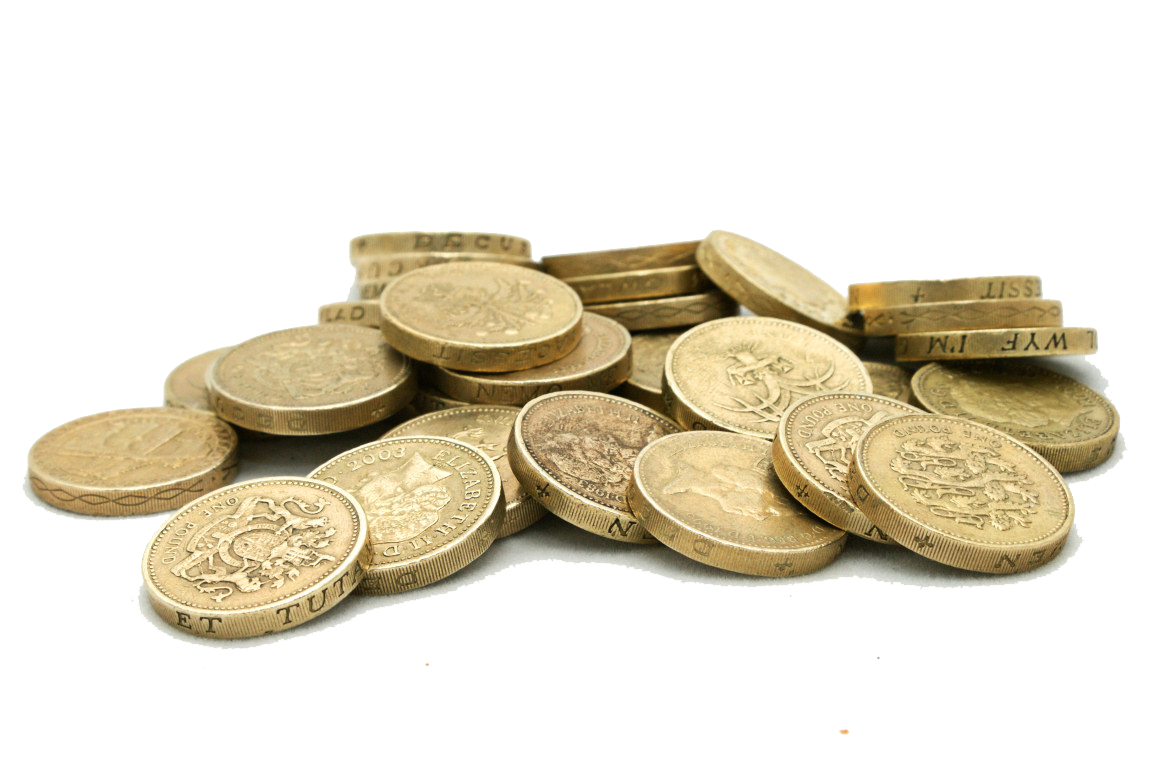 Sterling Coins Coin Pound One Download HD PNG PNG Image