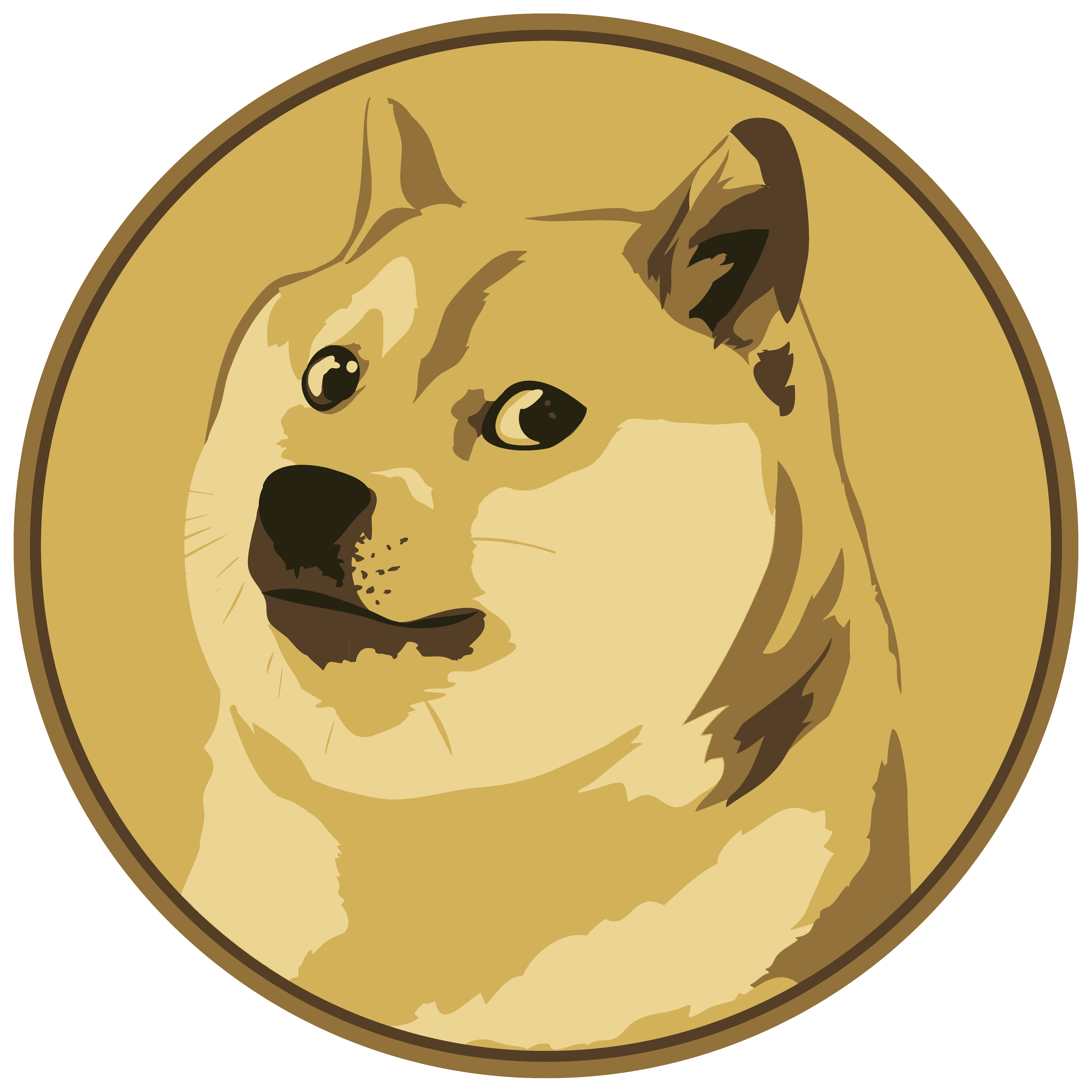Cryptocurrency Currency Doge Dogecoin Digital HD Image Free PNG PNG Image