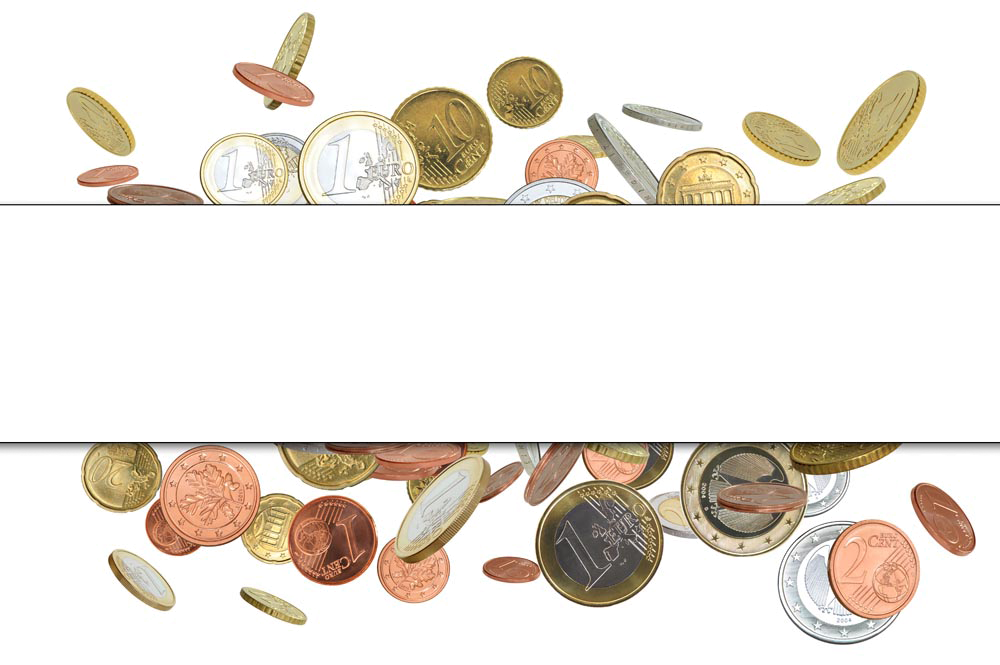 Money Coin Border Finance Gold Free Transparent Image HQ PNG Image