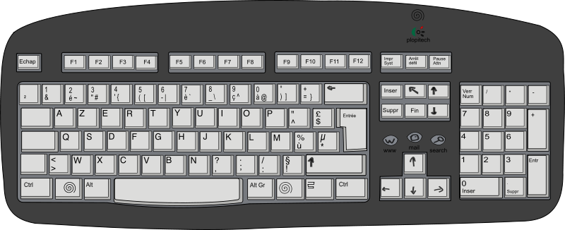 Device Computer Mouse Keyboard Free Clipart HQ PNG Image