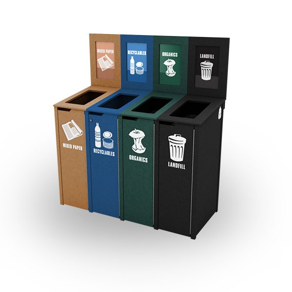 Bin Recycling Baskets Tin Paper Can Rubbish PNG Image
