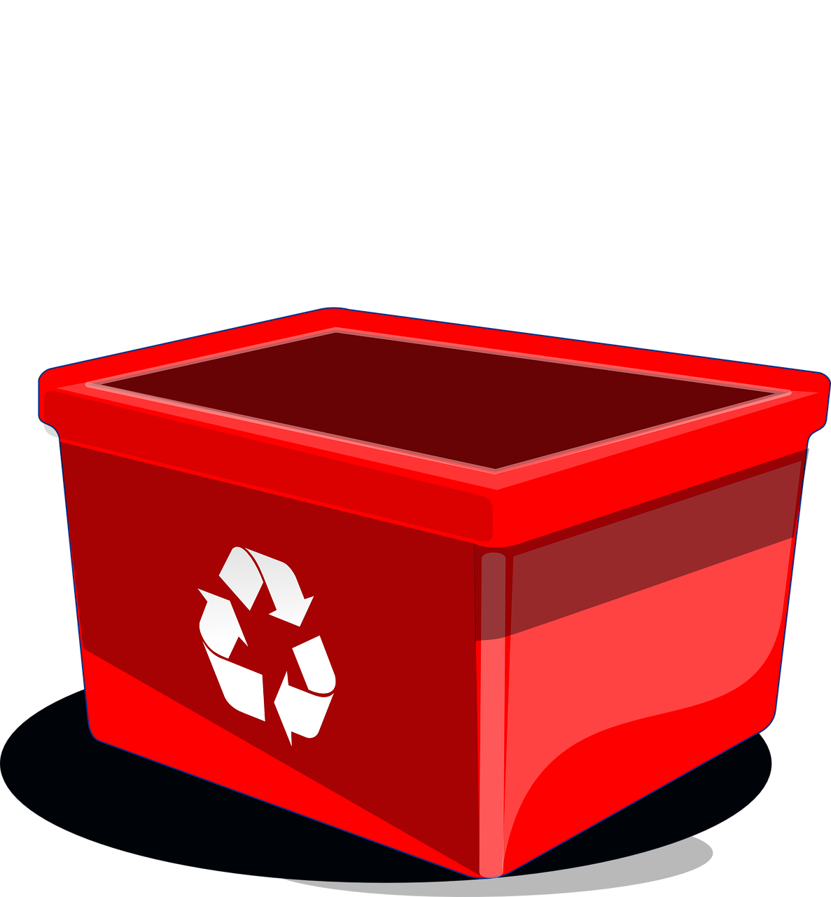 Bin Recycling Baskets Paper Rubbish Recycle Waste PNG Image