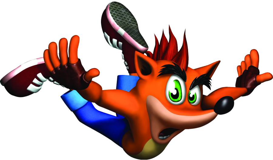 Crash Bandicoot File PNG Image