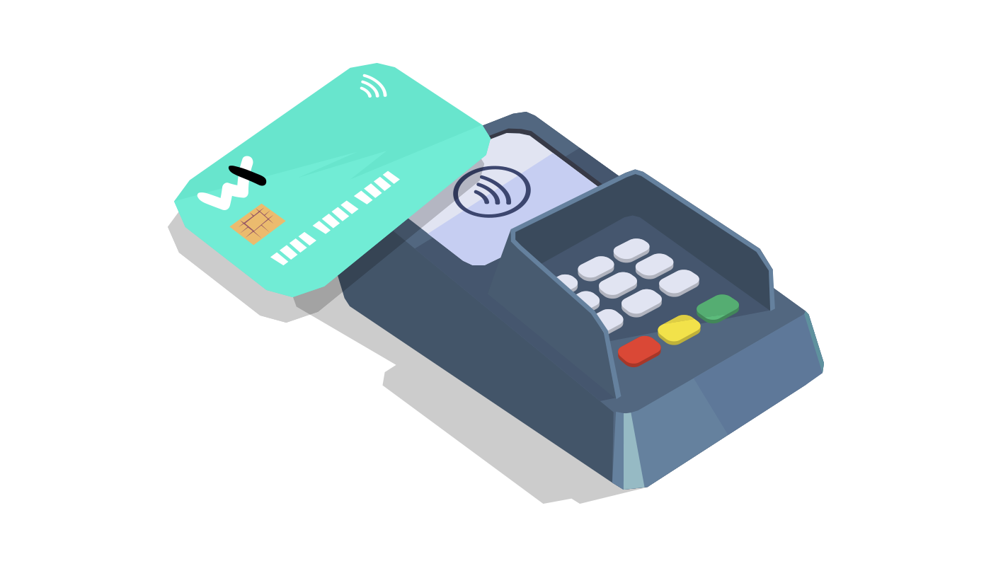 Wirex Cryptocurrency Credit Debit Contactless Payment Card PNG Image