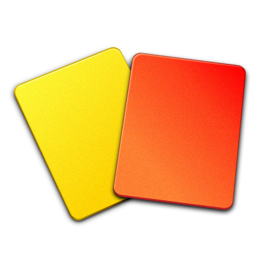Orange Cards Referee Material Yellow Free Download PNG HD PNG Image