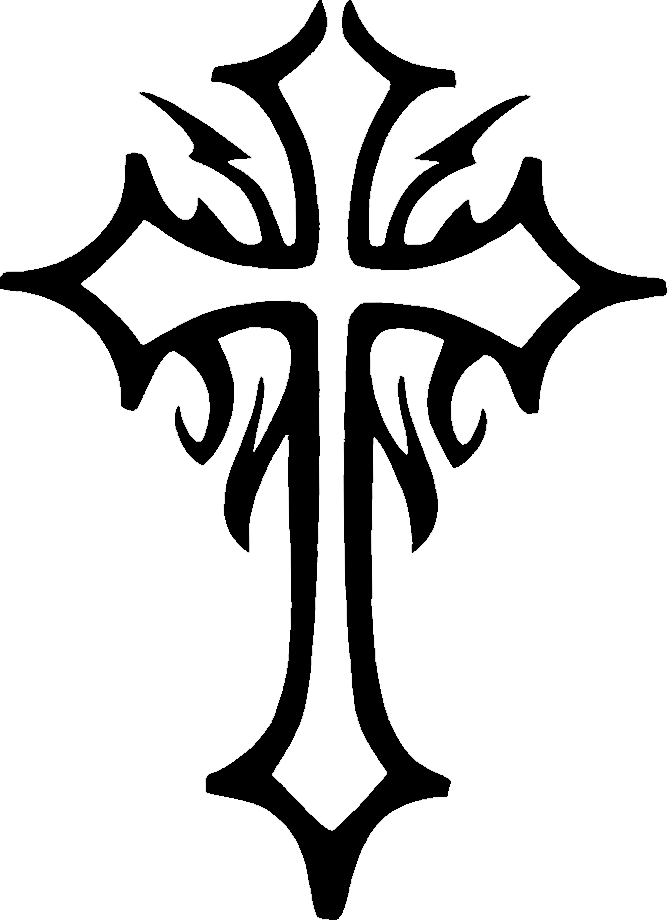 Cross Tattoos Transparent PNG Image