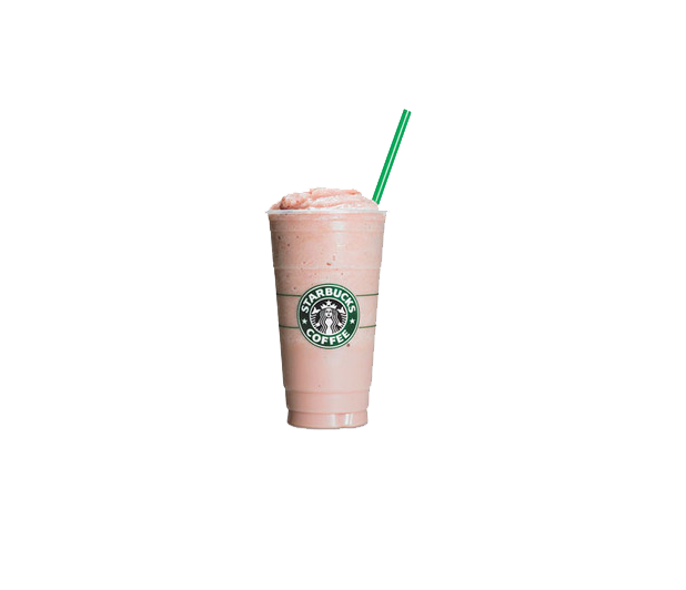 Smoothie Strawberry Milkshake Starbucks Cup PNG Image High Quality PNG Image