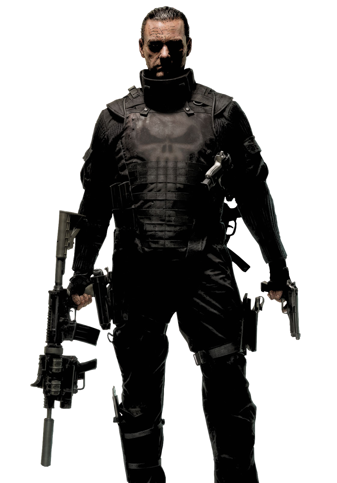 Equipment Punisher Protective Daredevil Personal Universe Cinematic PNG Image