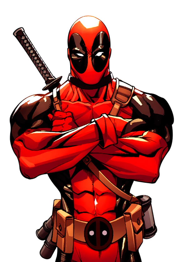 Wolverine Daredevil Spider-Man Deadpool Weasel Free Clipart HD PNG Image