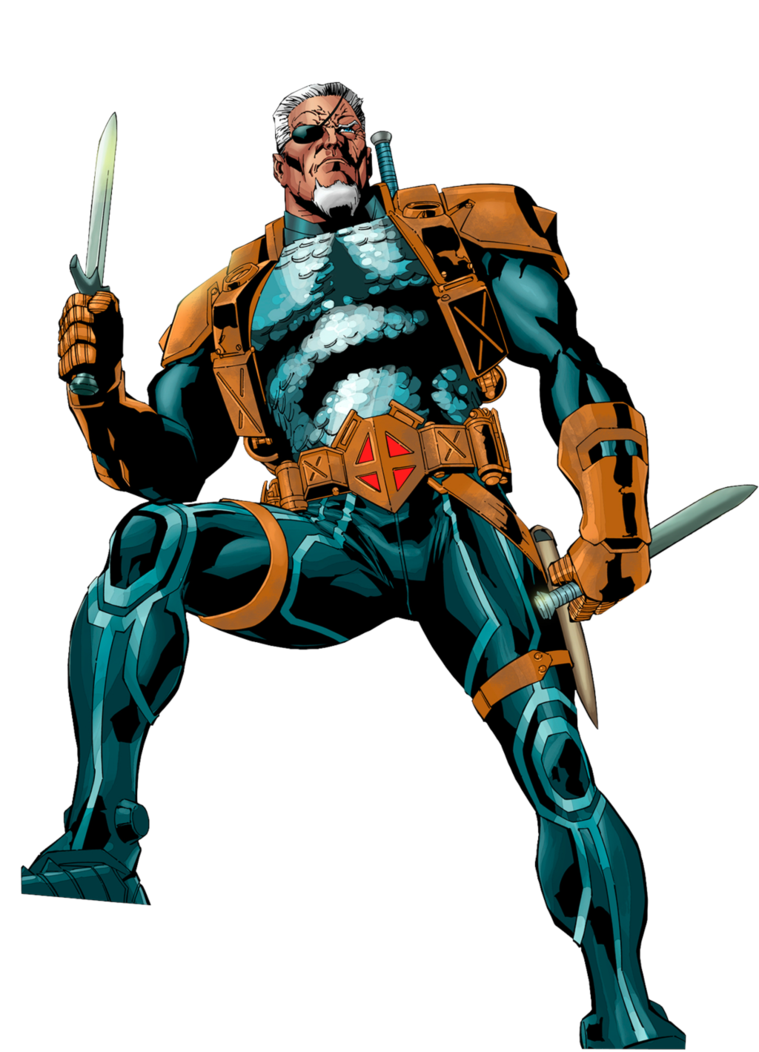 Deathstroke Transparent Background PNG Image