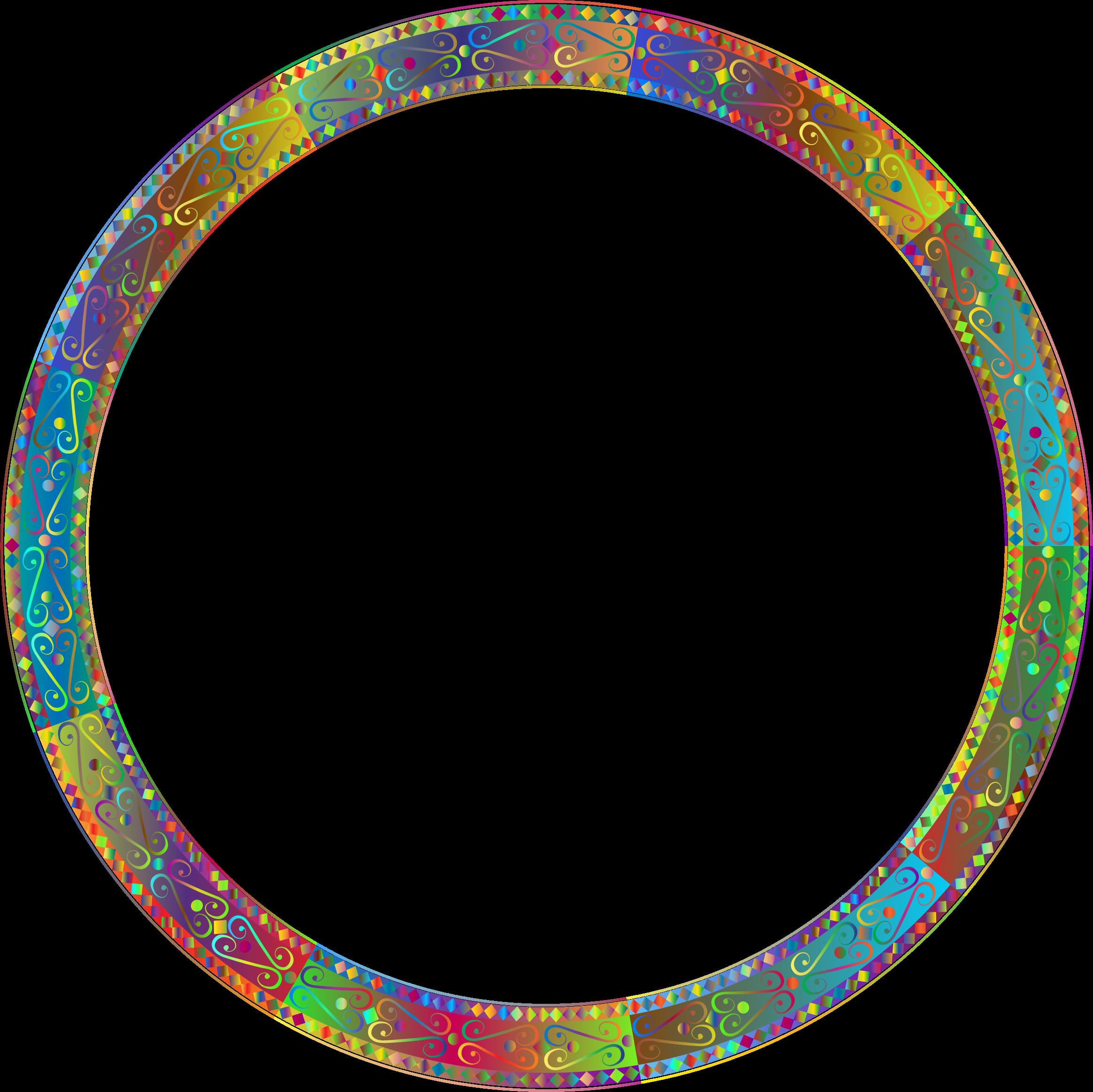 Download Round Frame Transparent HQ PNG Image   FreePNGImg