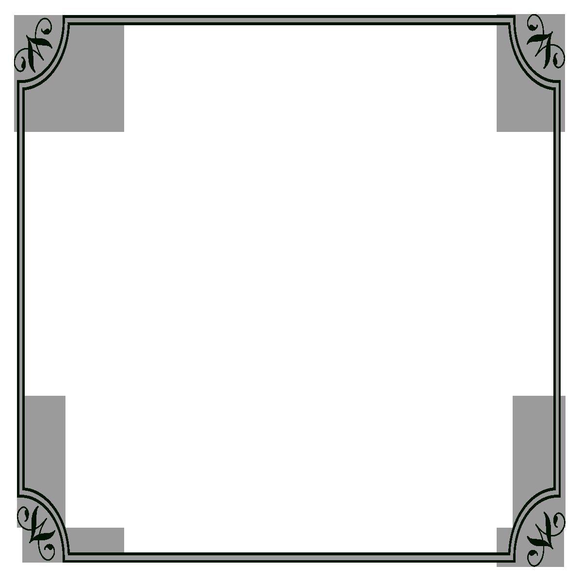 transparent black border - 860×902