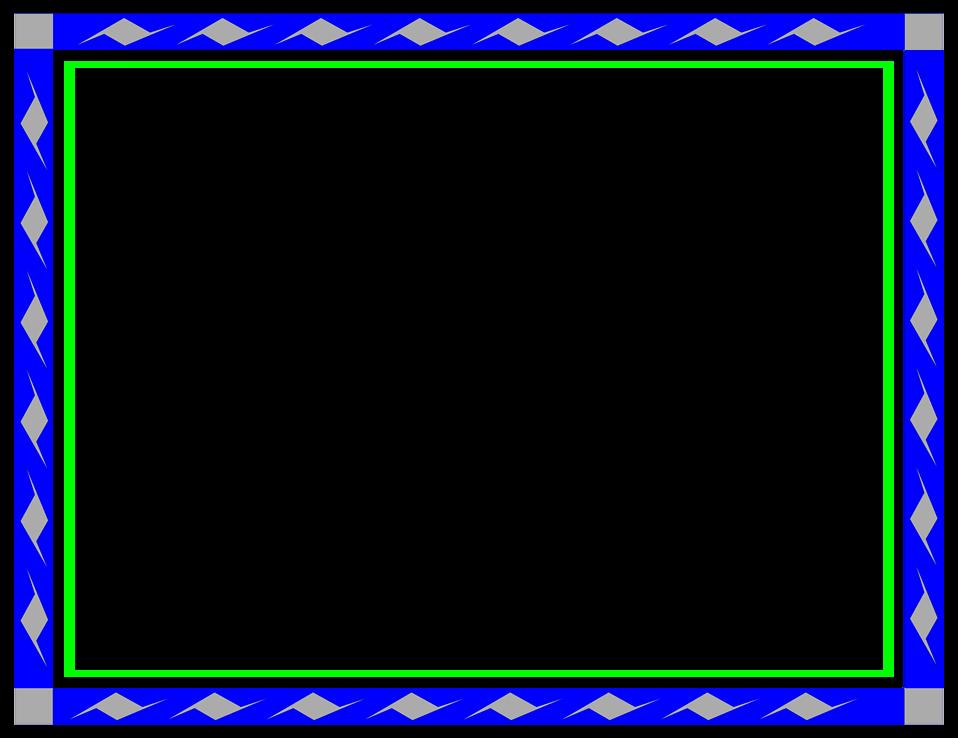 Download Blue Border Frame Transparent Background Hq Png Image Freepngimg