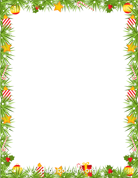 Garland Frame Clipart PNG Image