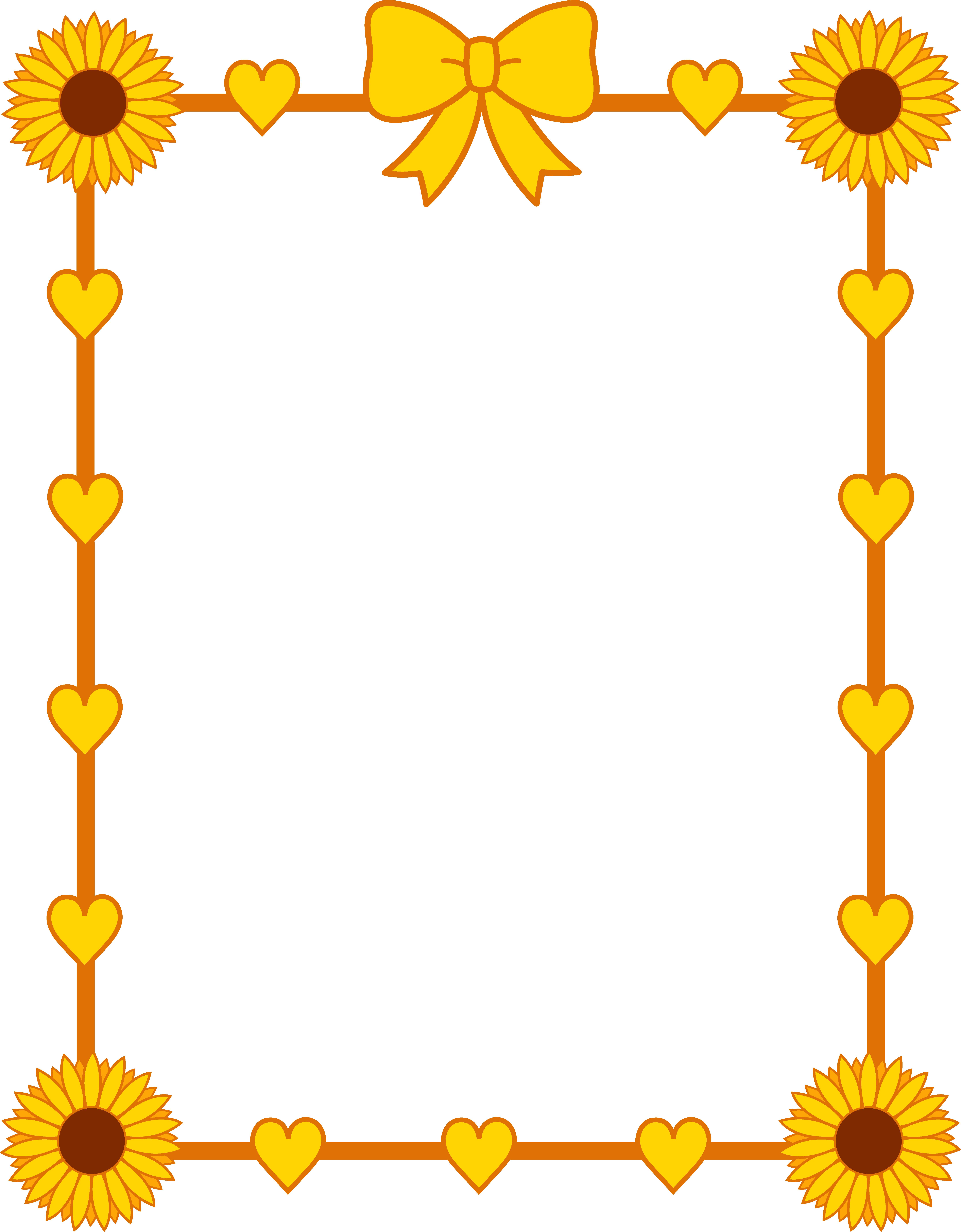 Download Yellow Border Frame Photo HQ PNG Image   FreePNGImg