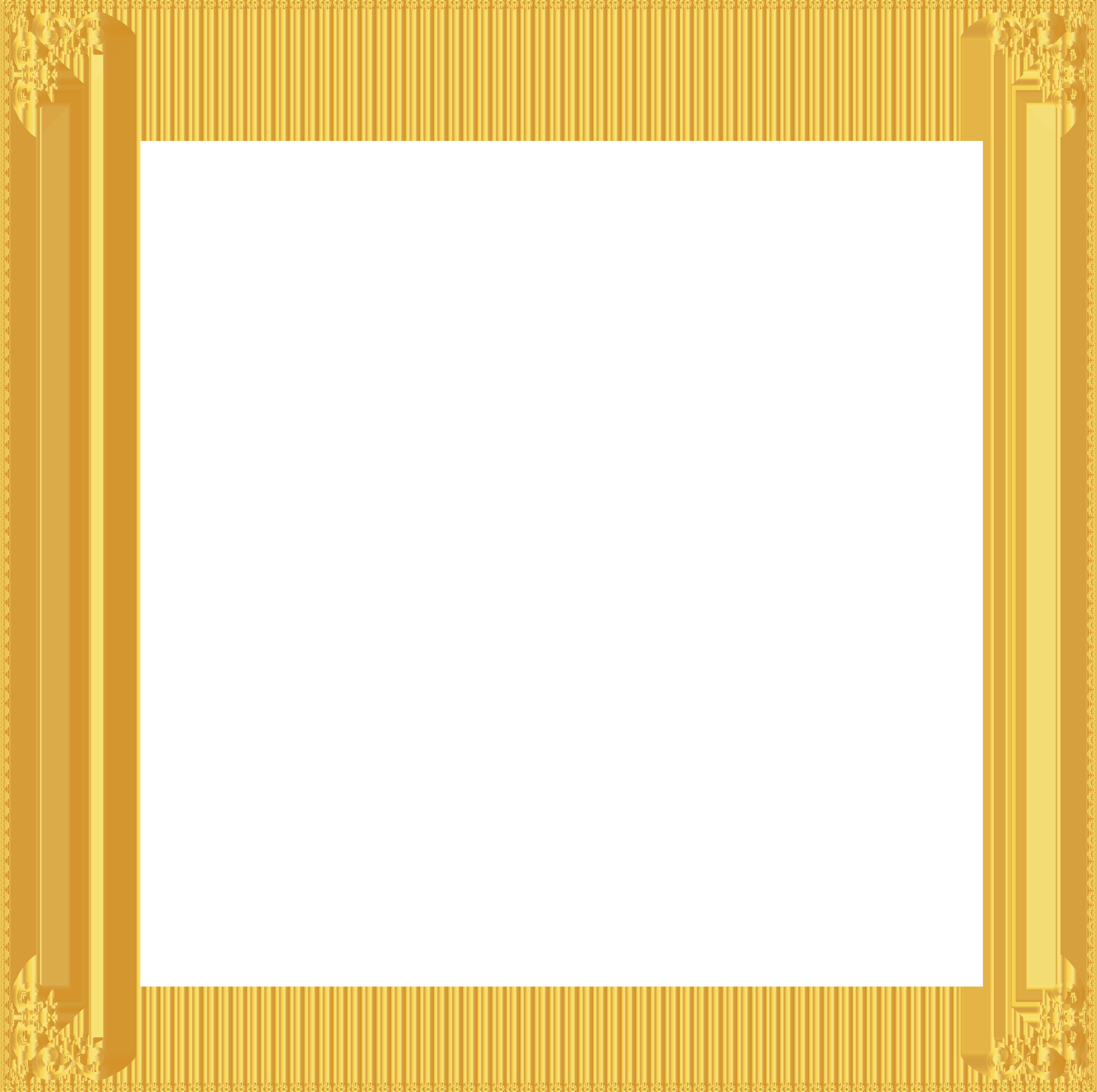 Download Gold Border Frame Clipart HQ PNG Image   FreePNGImg
