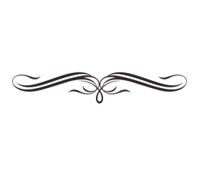 Decorative Line Black Png Pic PNG Image