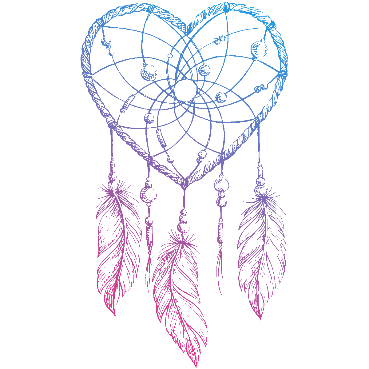 Drawing Dreamcatcher PNG Image High Quality PNG Image