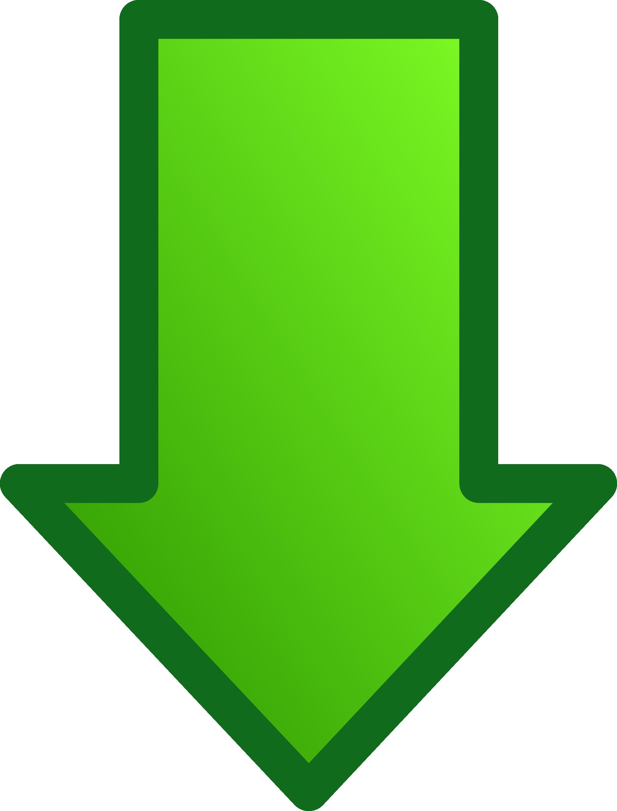 Arrow green. Download clipart hq png