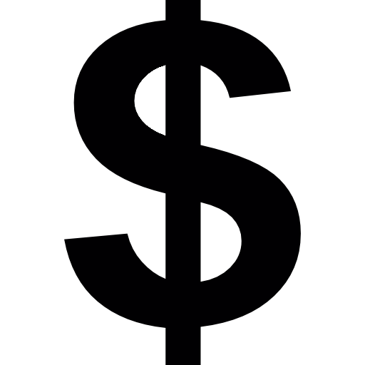 United Symbol Dollar Sign States Currency PNG Image
